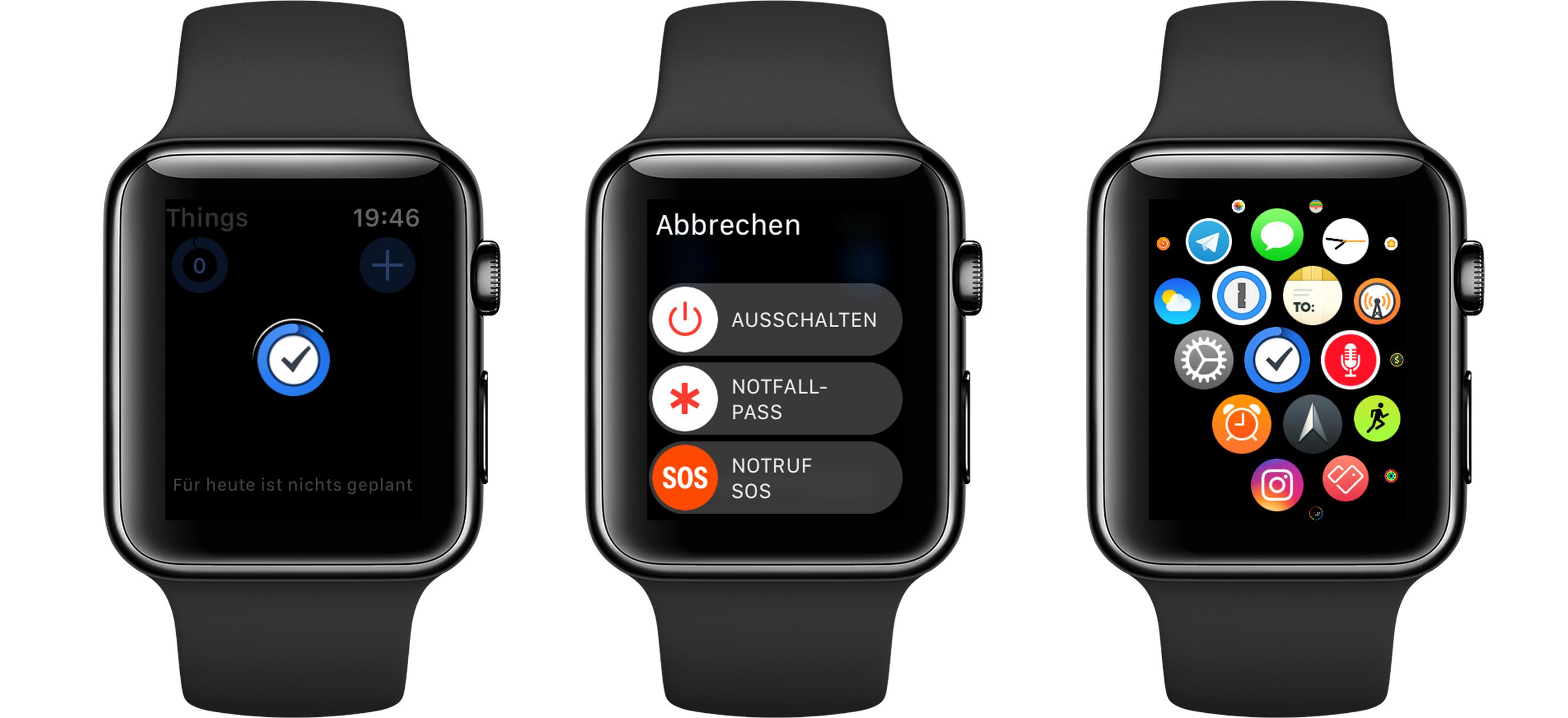 so schlie t du eine app die sich auf der apple watch aufgehangen hat matthias. Black Bedroom Furniture Sets. Home Design Ideas