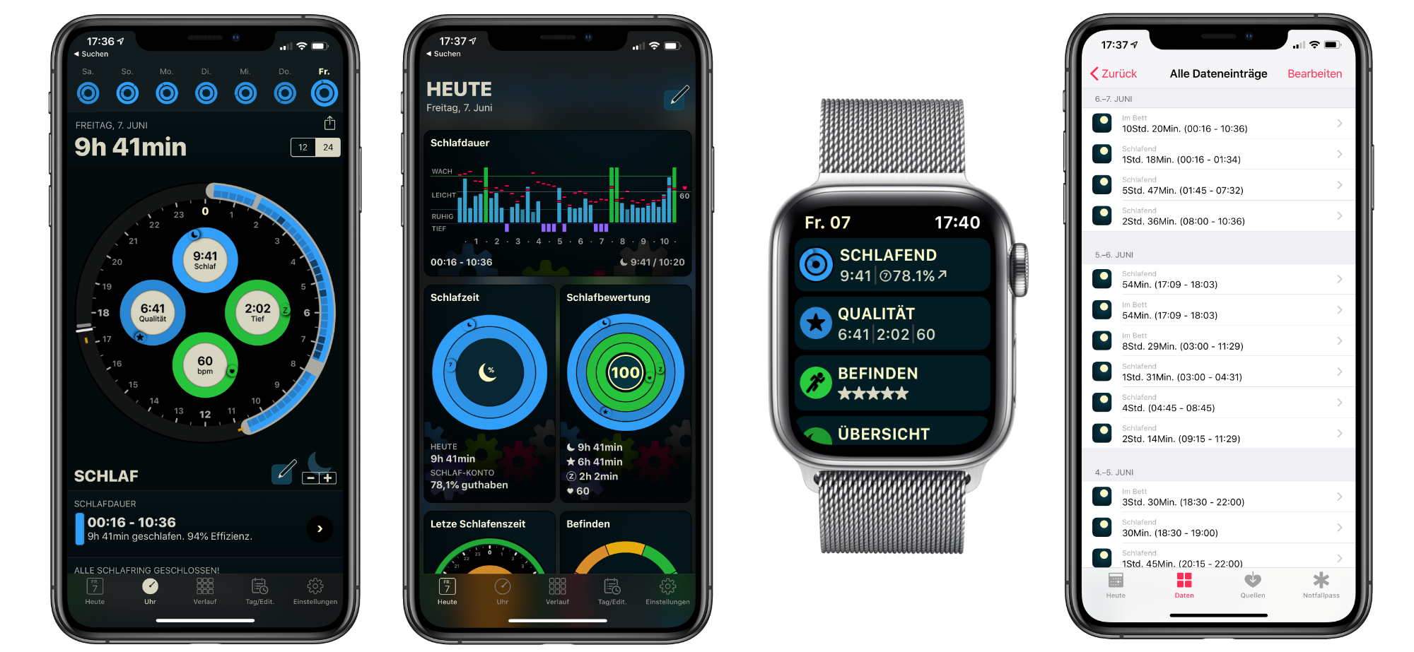 Autosleep_App_iOS_watchOS_Apple_Watch_Tracking2 AutoSleep - Schlafzyklen mit der Apple Watch aufzeichnen