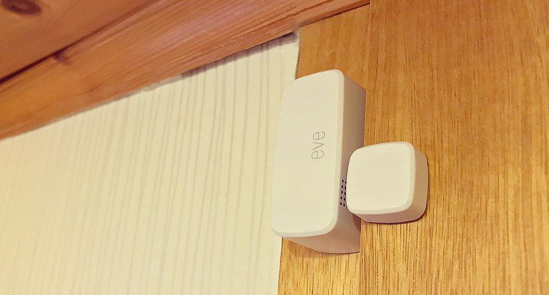 im test elgato eve door window der homekit sensor f r t ren fenster und co matthias. Black Bedroom Furniture Sets. Home Design Ideas