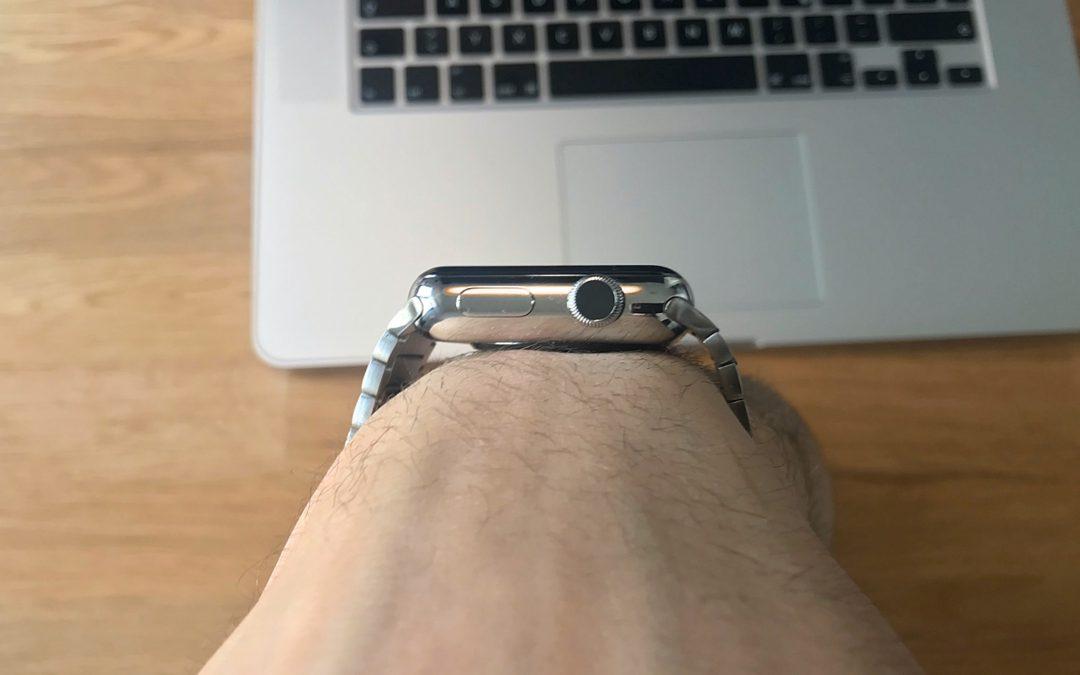 Gliederarmband für die Apple Watch von Bluestein – die edelste Armbandvariante für 149€ statt 509€