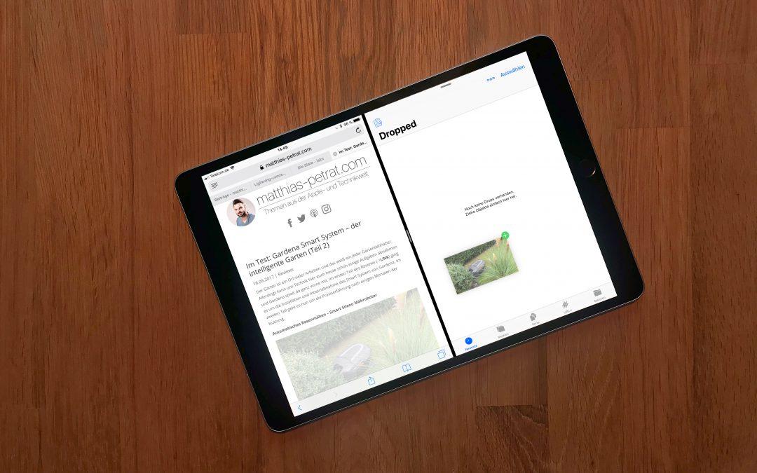 Dropped: Drag & Drop Clipboard für iPad – speicher dir alles schnell für später