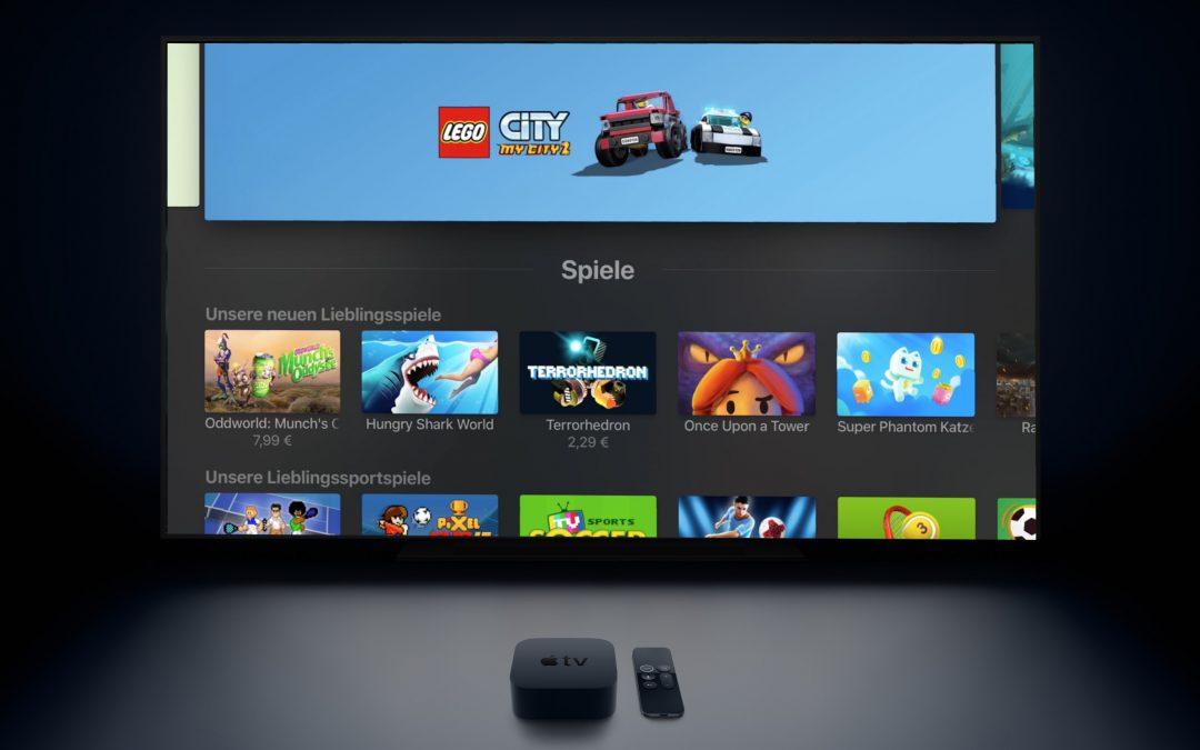 Die besten Spiele für das Apple TV 4 und Apple TV 4K