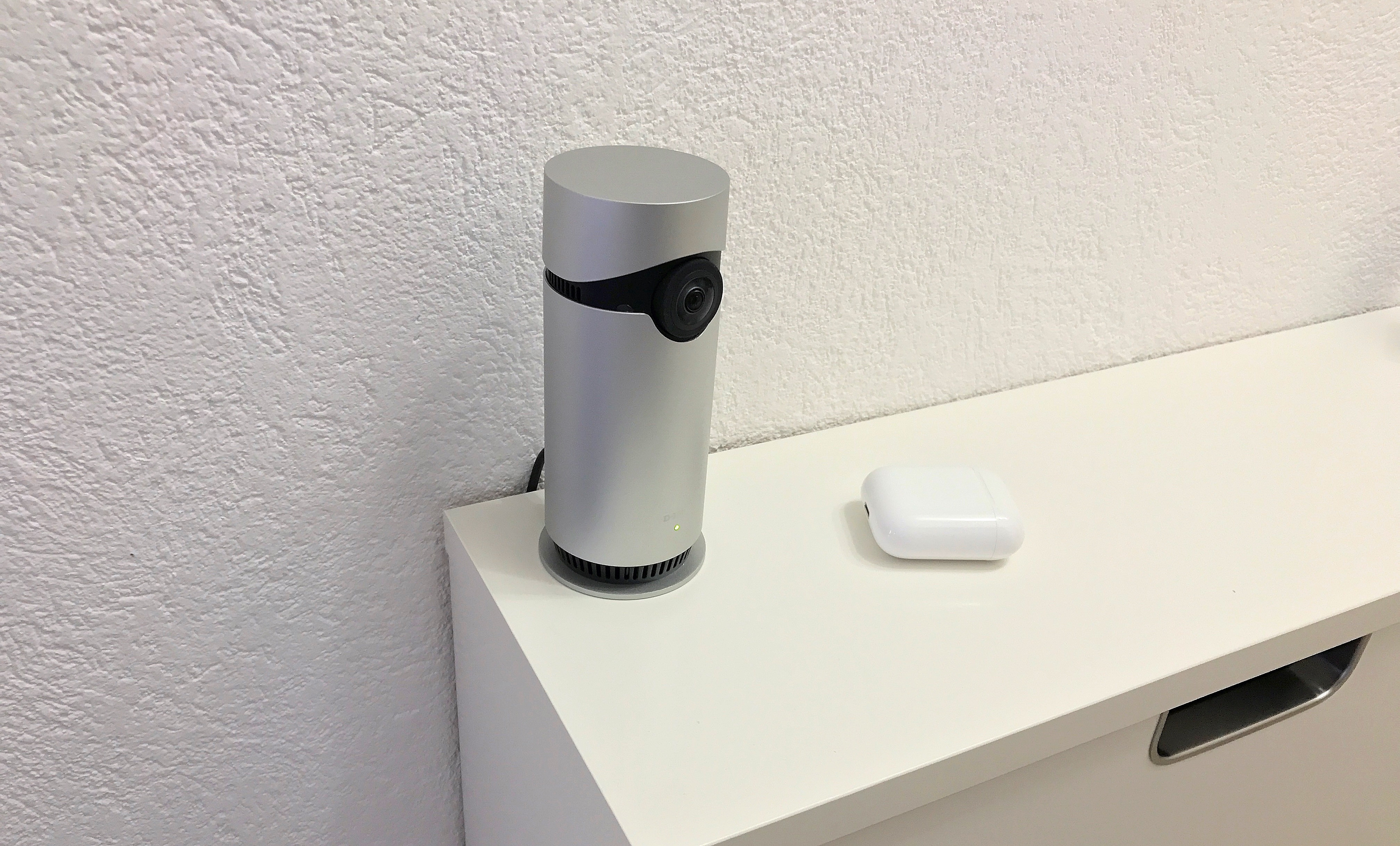 im test omna von d link die erste homekit berwachungskamera f r die wohnung matthias. Black Bedroom Furniture Sets. Home Design Ideas