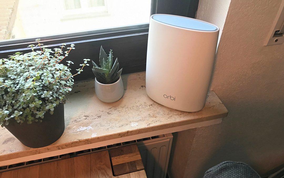 Im Test: Orbi Tri-band Mesh WLAN System von Netgear – endlich WLAN im ganzen Haus