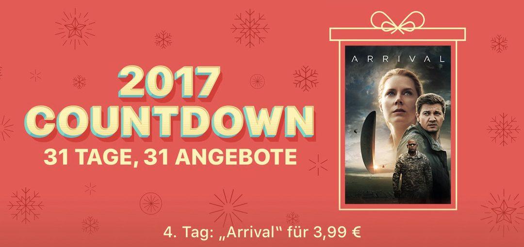"31 Tage, 31 Angebote: 4. Tag – Film ""Arrival"" für 3,99€"