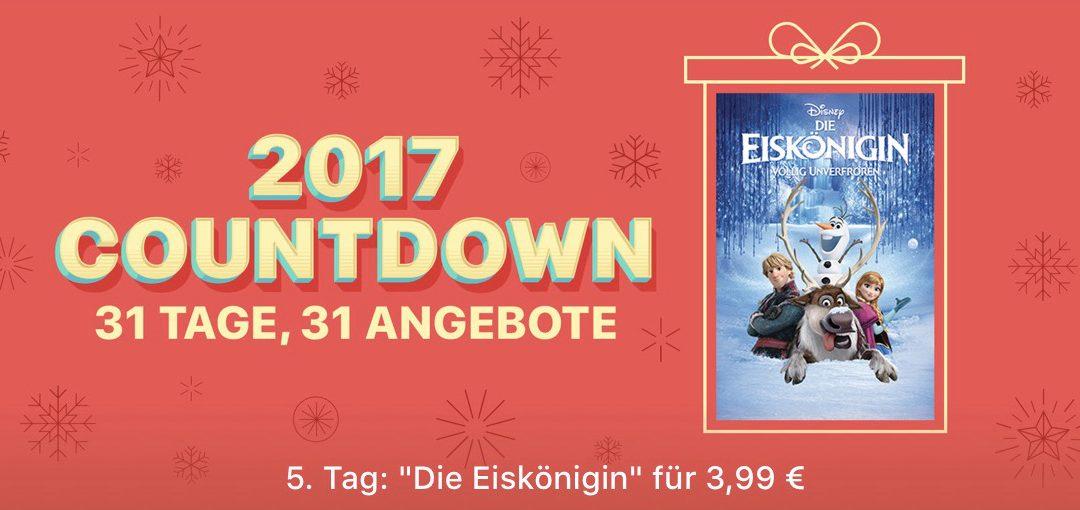 """31 Tage, 31 Angebote: 5. Tag – Film """"Die Eiskönigin"""" für 3,99€"""