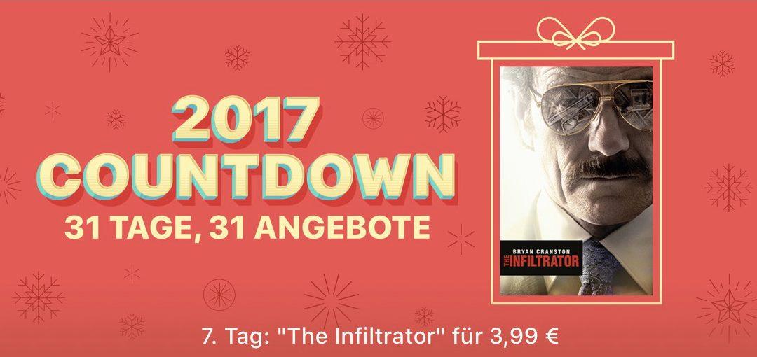 "31 Tage, 31 Angebote: 7. Tag – Film ""The Infiltrator"" für 3,99€"