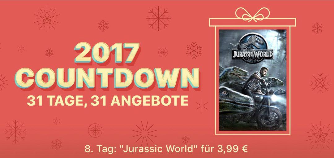 """31 Tage, 31 Angebote: 8. Tag – Film """"Jurassic World"""" für 3,99€"""