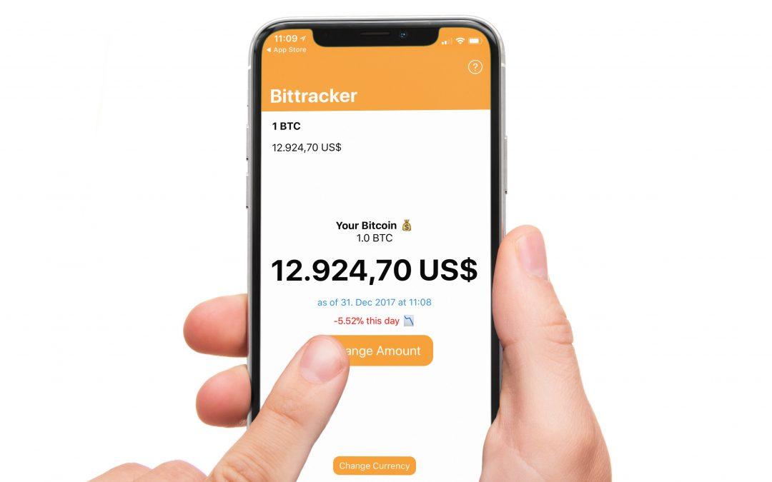 Bittracker – behalte den Kurs und Wert von Kryptowährungen ganz genau im Auge