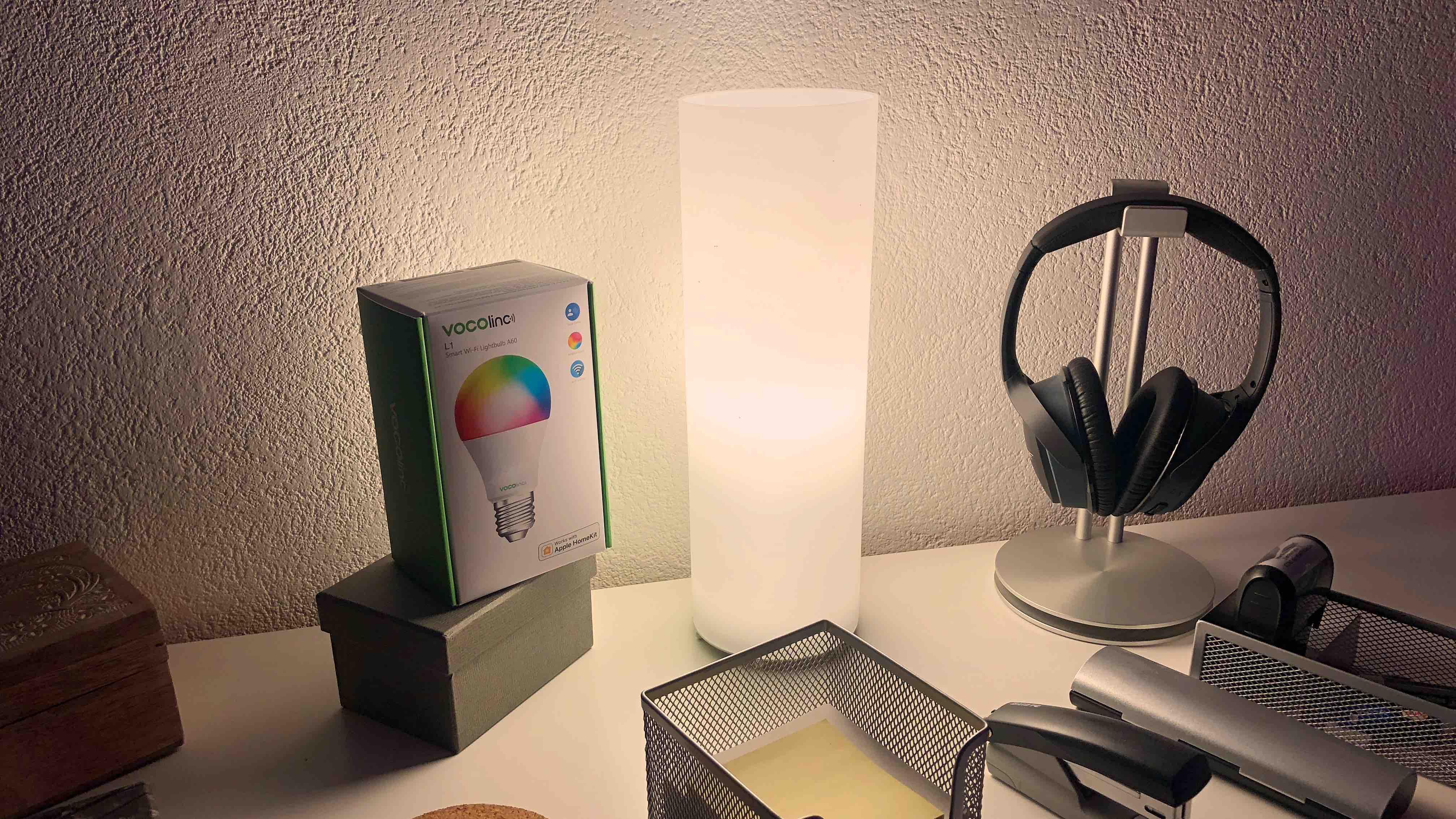 Im Test E27 Homekit Lampen Von Vocolinc Licht Ohne