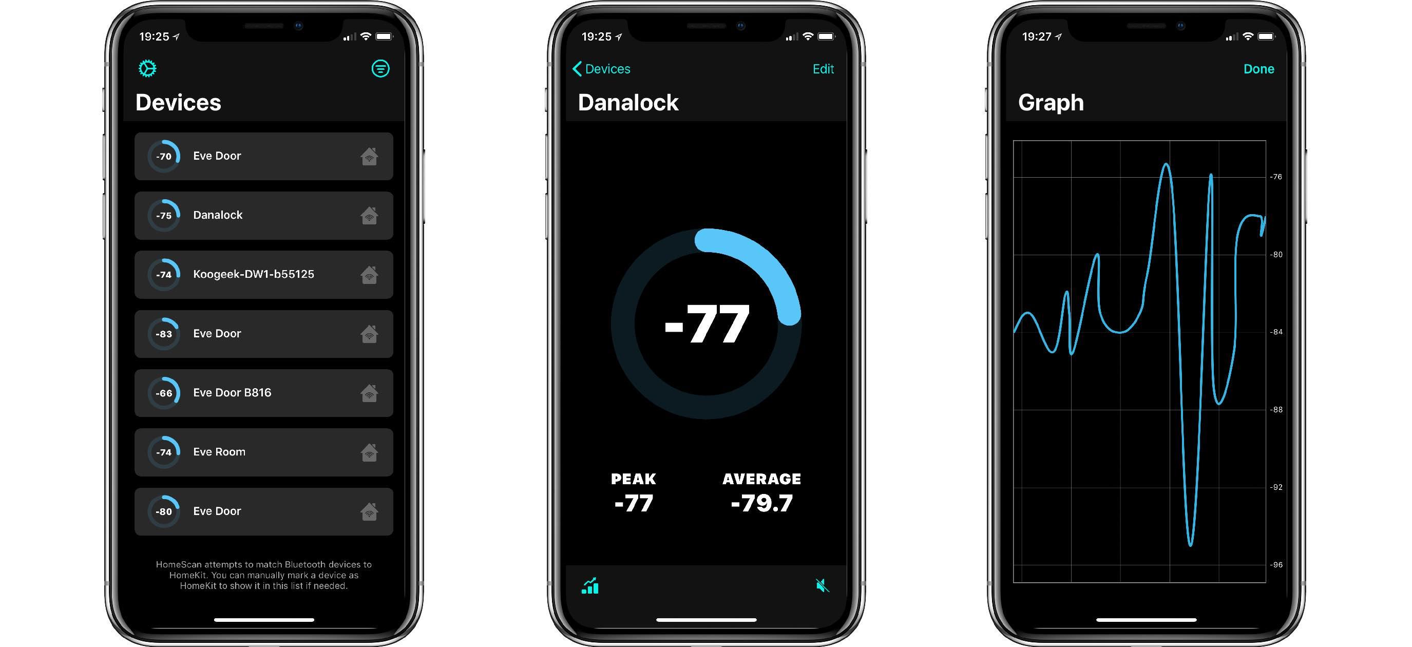 iOS-Screenshot-HomeScan HomeScan für HomeKit - diese App hilft dir die Bluetoothreichweite von HomeKit-Geräten zu optimieren