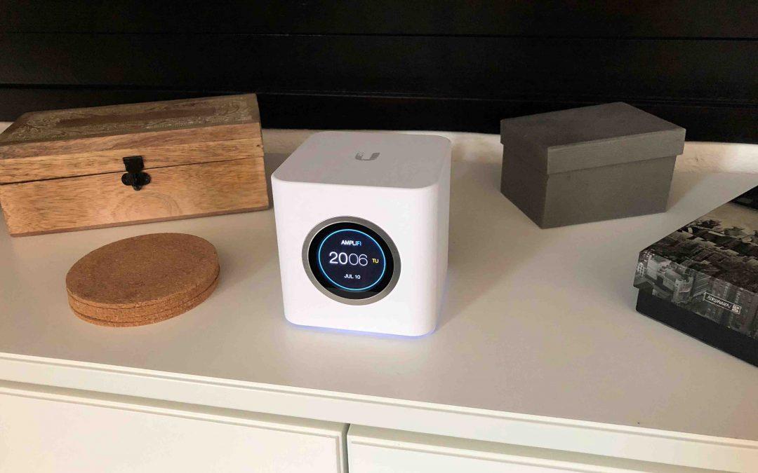 Im Test: Ubiquiti AmpliFi Home Wi-Fi-Mesh-System – endlich WLAN bis in die kleinste Ecke