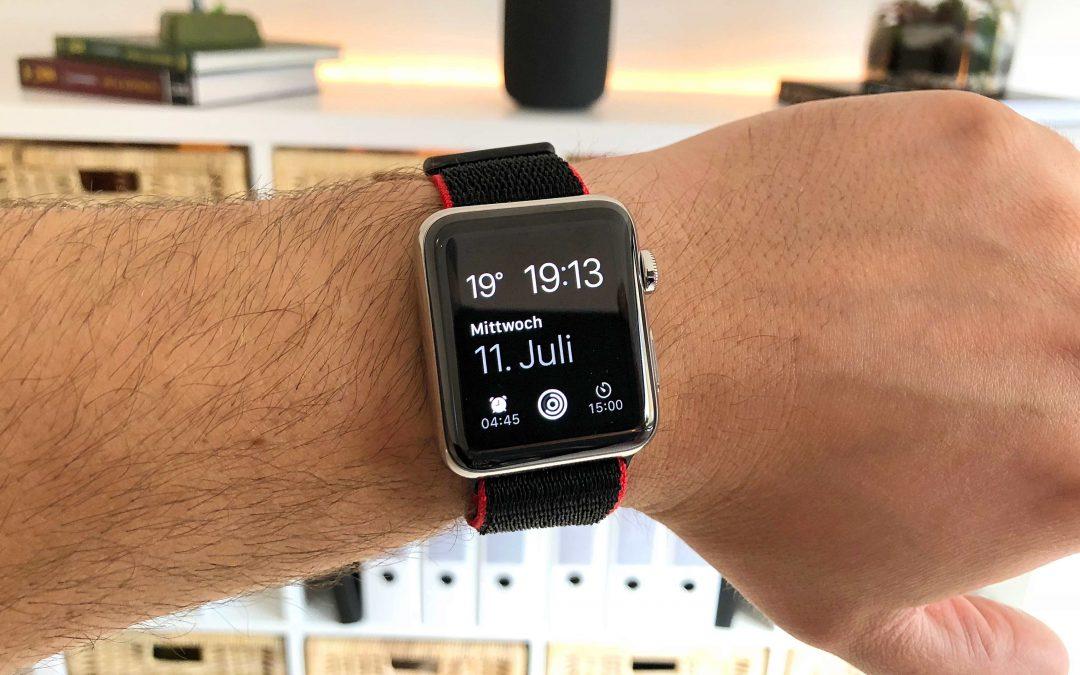 Im Test: Nylon Armbänder für die Apple Watch von Bluestein – bequem, stylisch und günstig