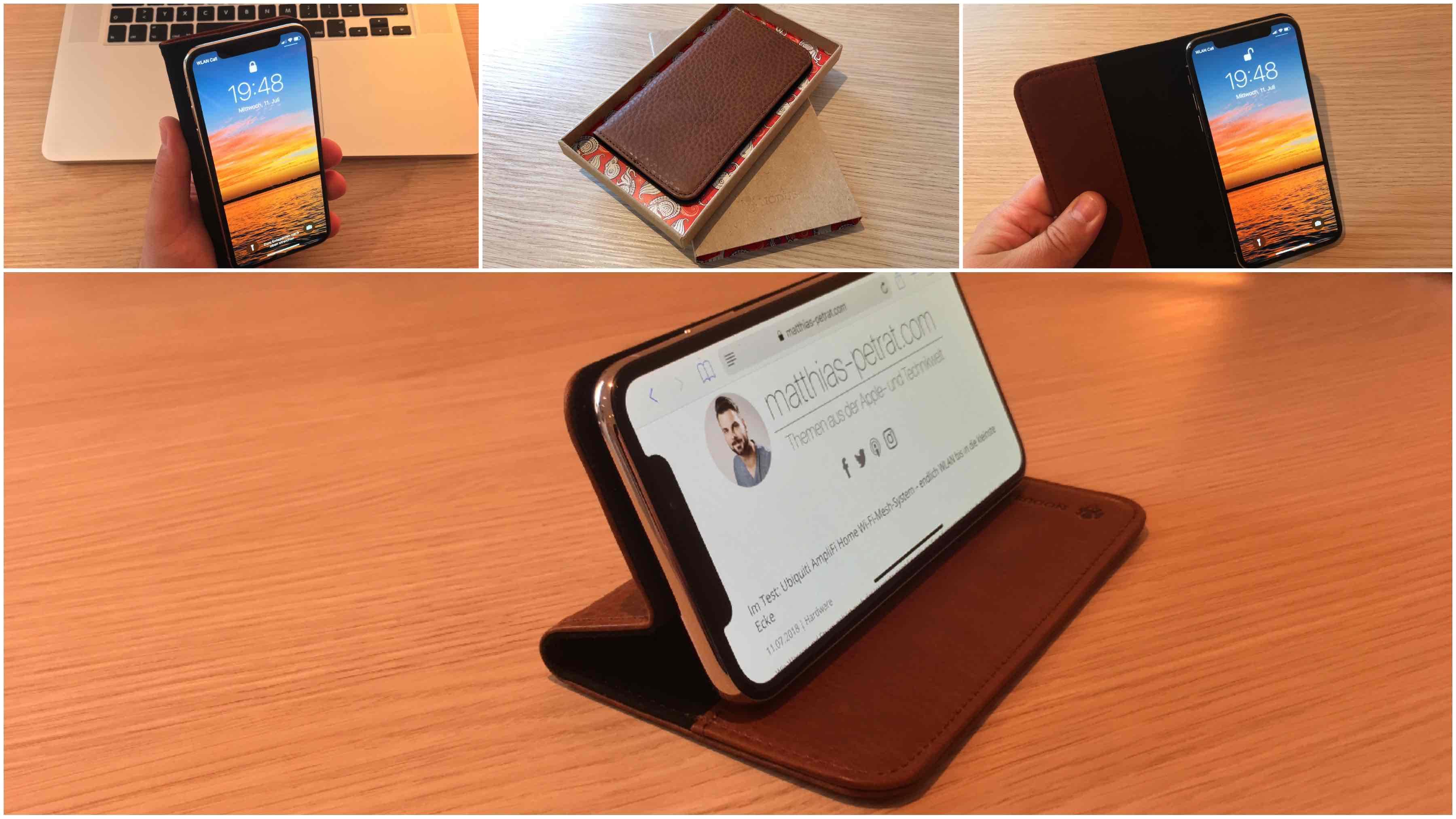 Nodus_Ledercase_Artikelbilder_Review2 Im Test:  Access Case III für iPhone X von Nodus - das edle Echtledercase mit Aufstellfunktion