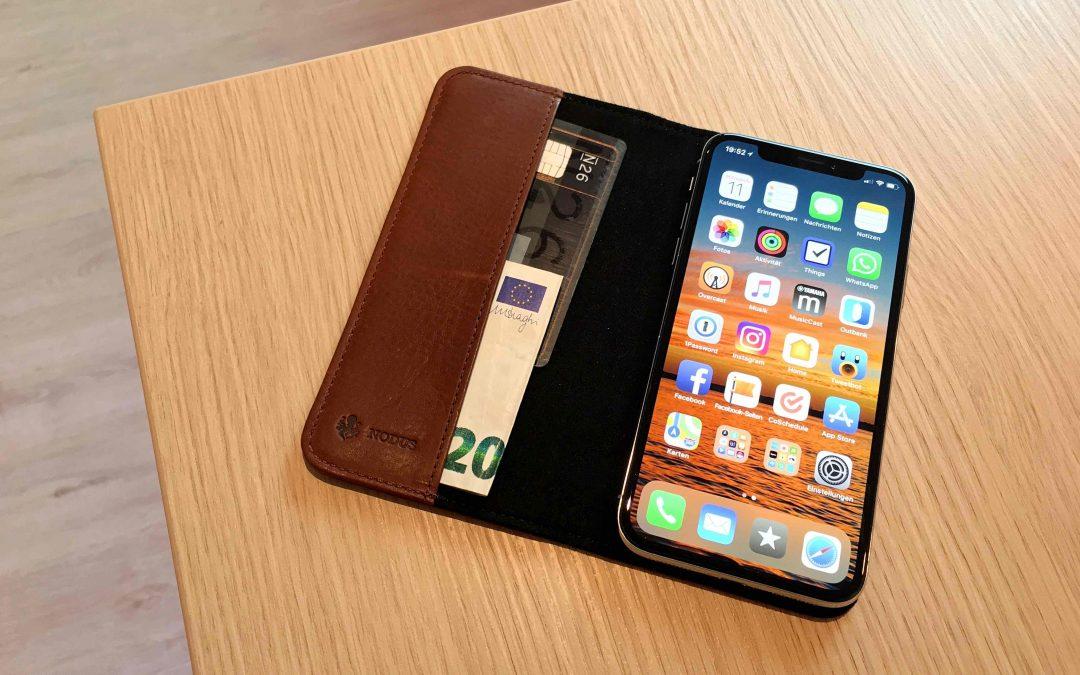 Im Test:  Access Case III für iPhone X von Nodus – das edle Echtledercase mit Aufstellfunktion