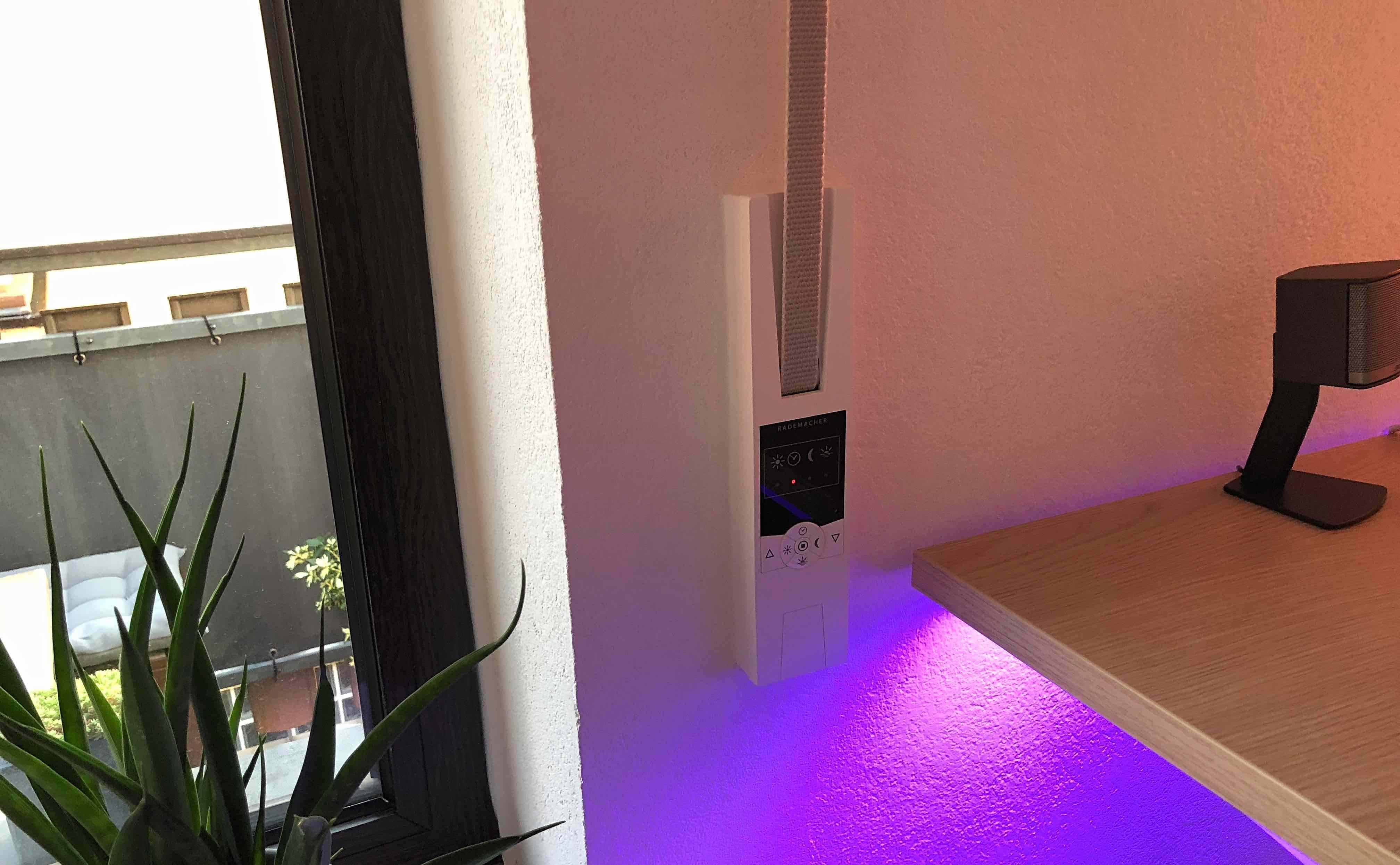 im test umweltsensor von rademacher nutze wetterverh ltnisse zur rollladen und. Black Bedroom Furniture Sets. Home Design Ideas