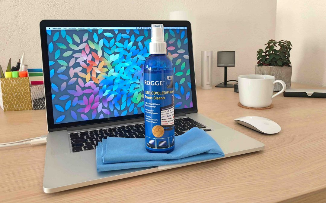 Flecken und Schlieren ade – so reinigst du deine Displays optimal