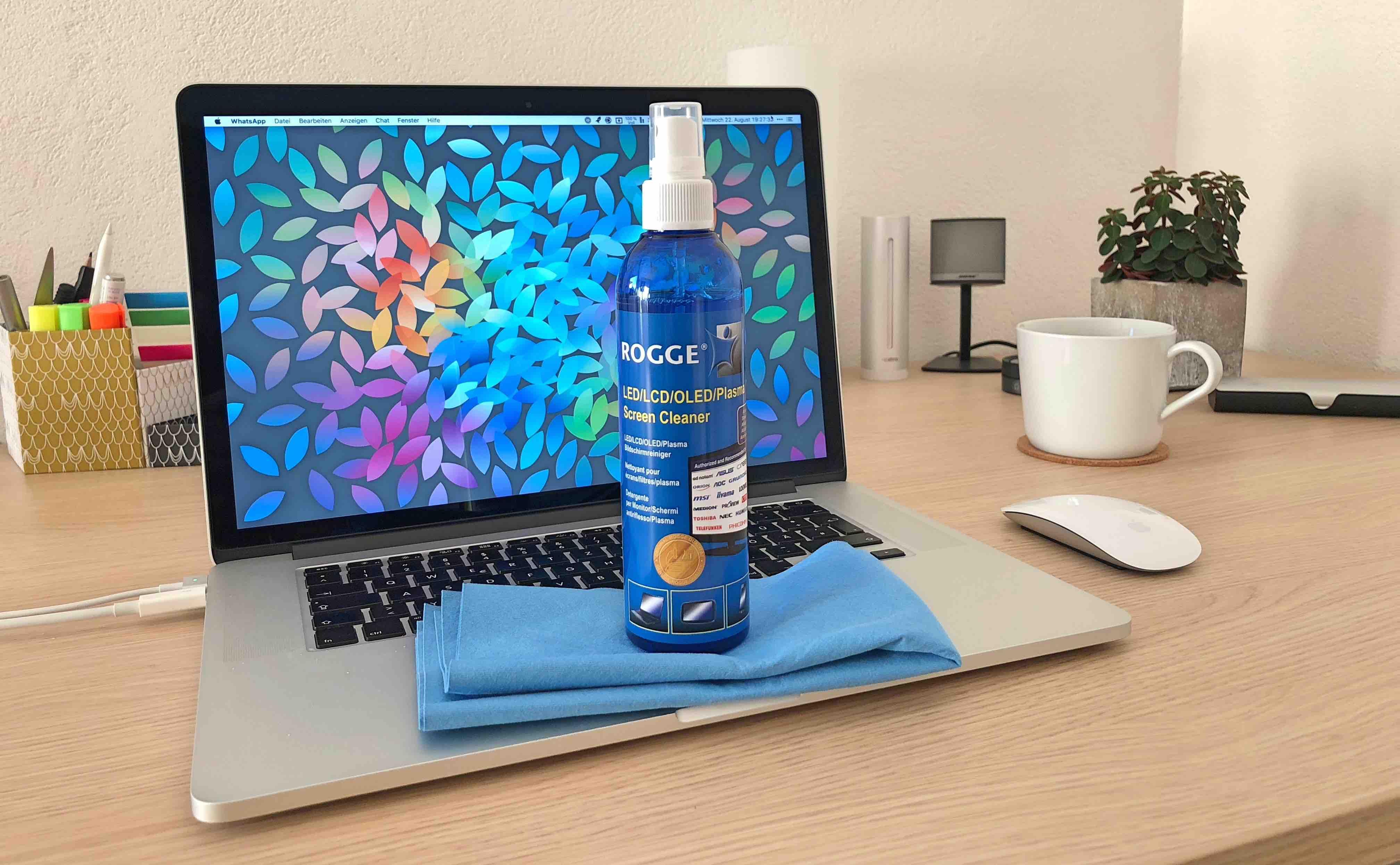 Rogge_Screen_Cleaner_Artikelbilder3 Flecken und Schlieren ade - Displays optimal reinigen