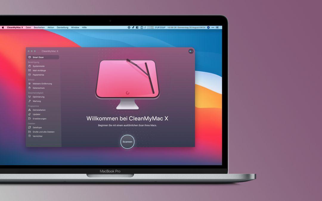 CleanMyMac X für macOS – macht den Mac wieder flott und ordentlich