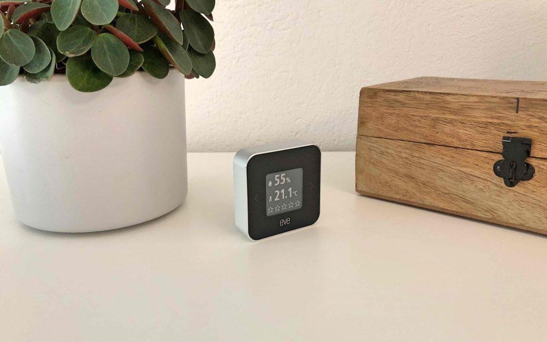 Im Test: Der Eve Room 2 – Temperatur, Luftfeuchtigkeit und Luftqualität in einem HomeKit-Gerät