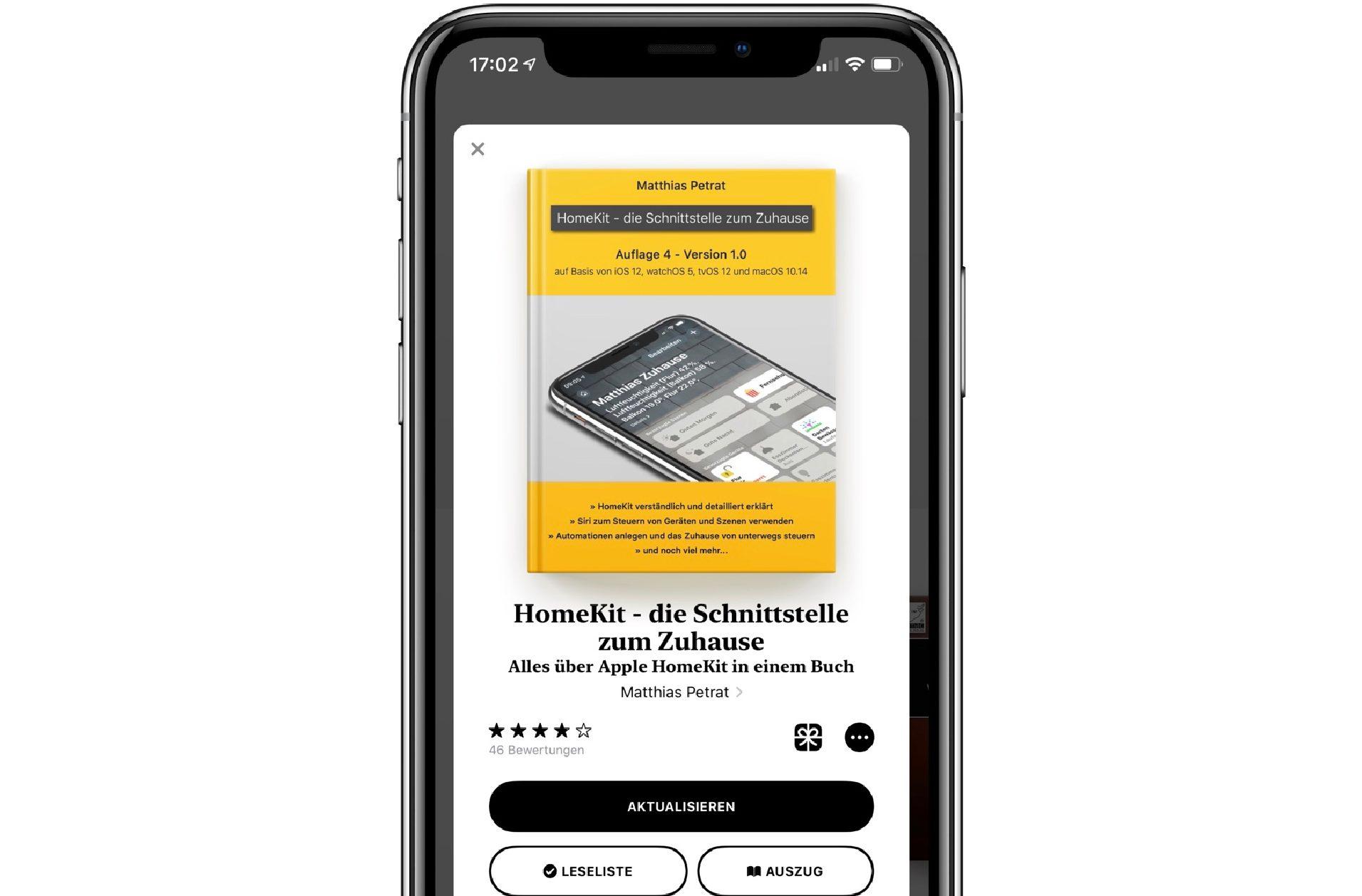 """HomeKit_Buch_Auflage_iPhone_Screenshot-e1538570157131 """"HomeKit – die Schnittstelle zum Zuhause"""" – die 4. Auflage ist da"""