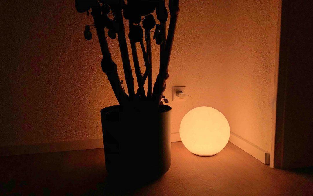 Im Test: Der Eve Flare von Eve – die HomeKit-Leuchtkugel für drinnen und draußen