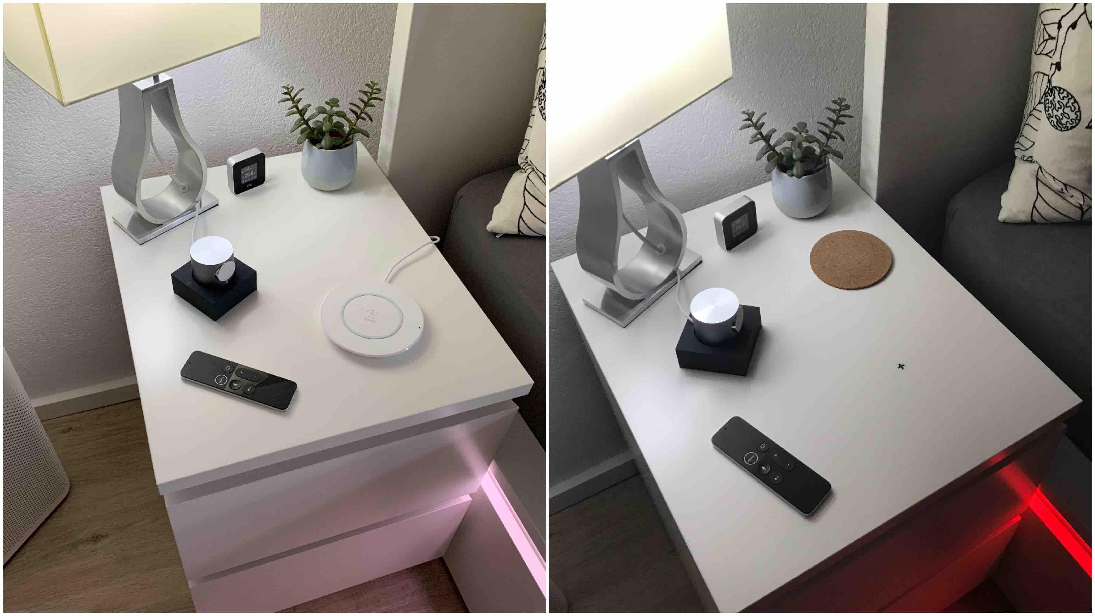 iPhone_Laden_Nachttisch1 Anleitung: Das iPhone drahtlos über Möbeloberflächen aufladen
