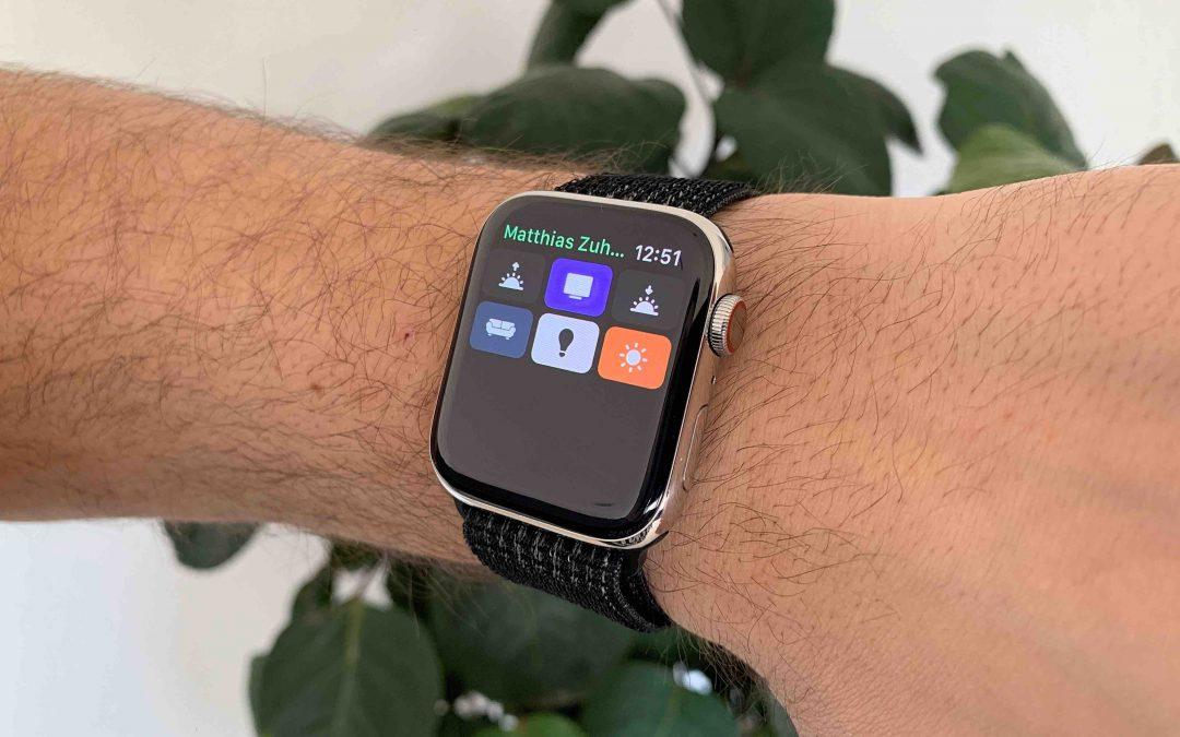 HomeRun – schalte HomeKit-Szenen auf der Apple Watch über Schaltflächen