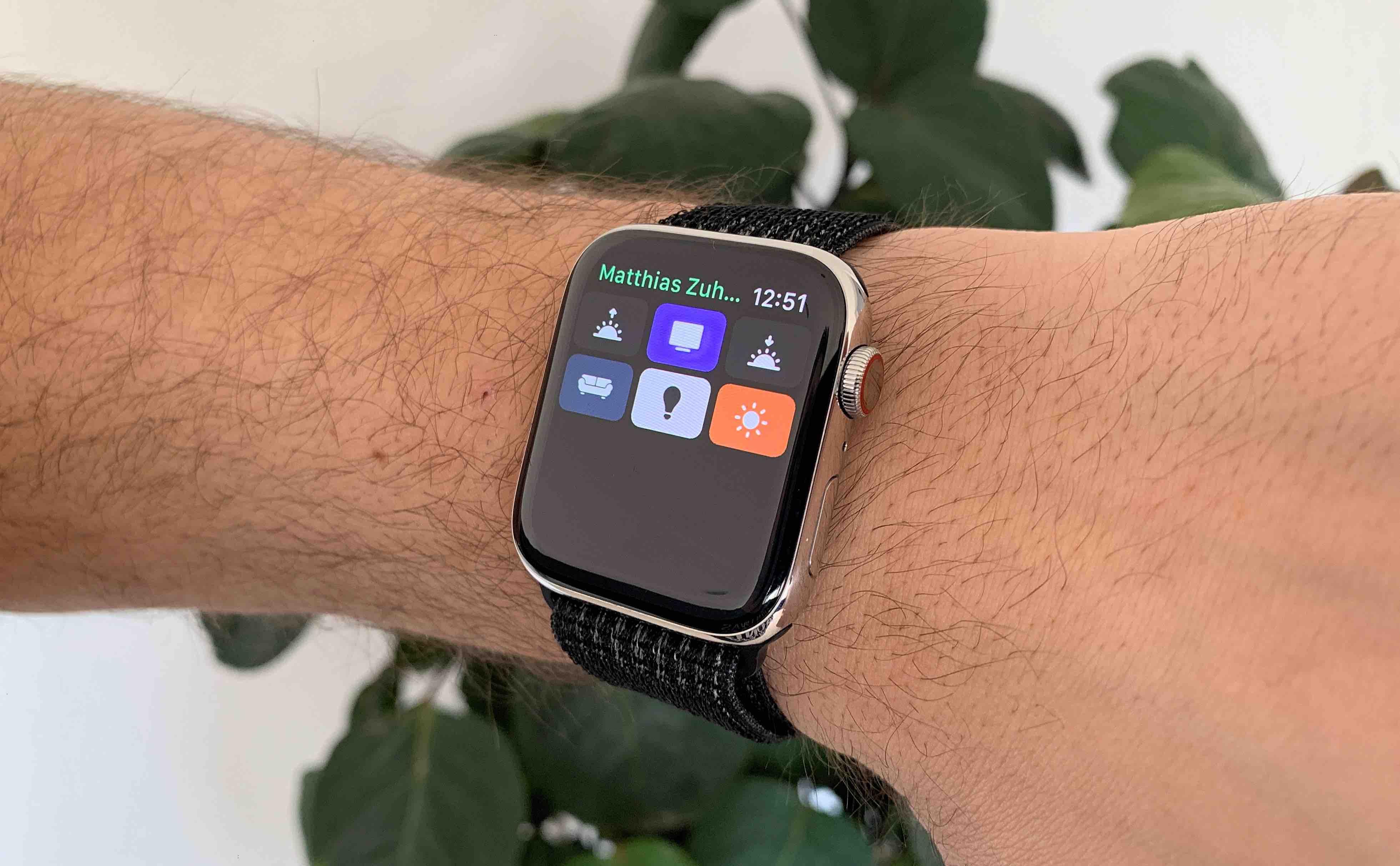 HomeRun_Apple_Watch_HomeKit-Review02 HomeRun - schalte HomeKit-Szenen auf der Apple Watch über Schaltflächen