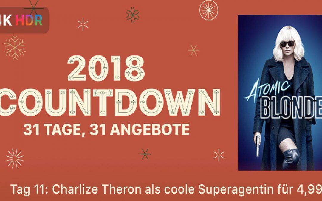 "31 Tage, 31 Angebote – 11. Tag: ""Atomic Blonde"" für 4,99€"
