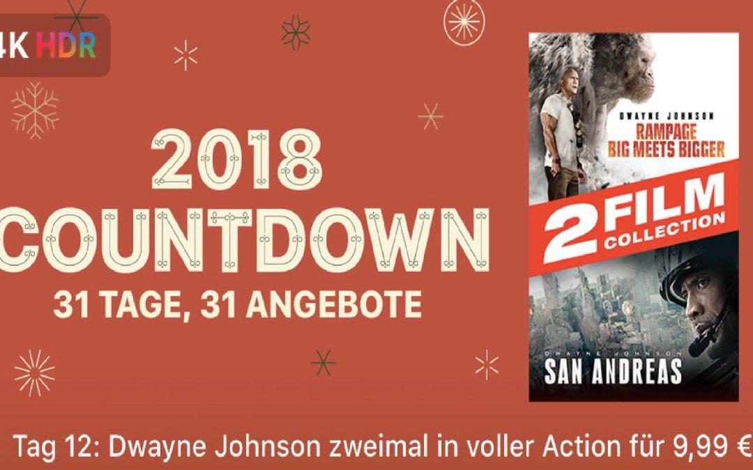 """31 Tage, 31 Angebote – 12. Tag: """"Rampage: Big Meets Bigger"""" und """"San Andreas"""" zusammen für 9,99€"""