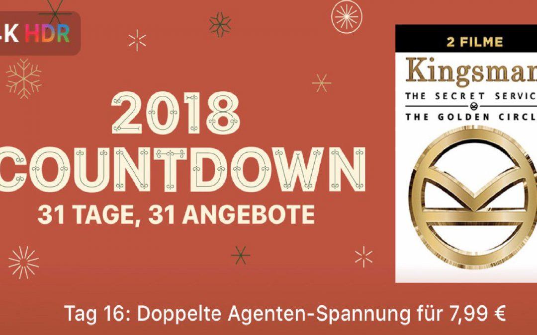 """31 Tage, 31 Angebote – 16. Tag: """"Kingsman 1 + 2"""" für 7,99€"""