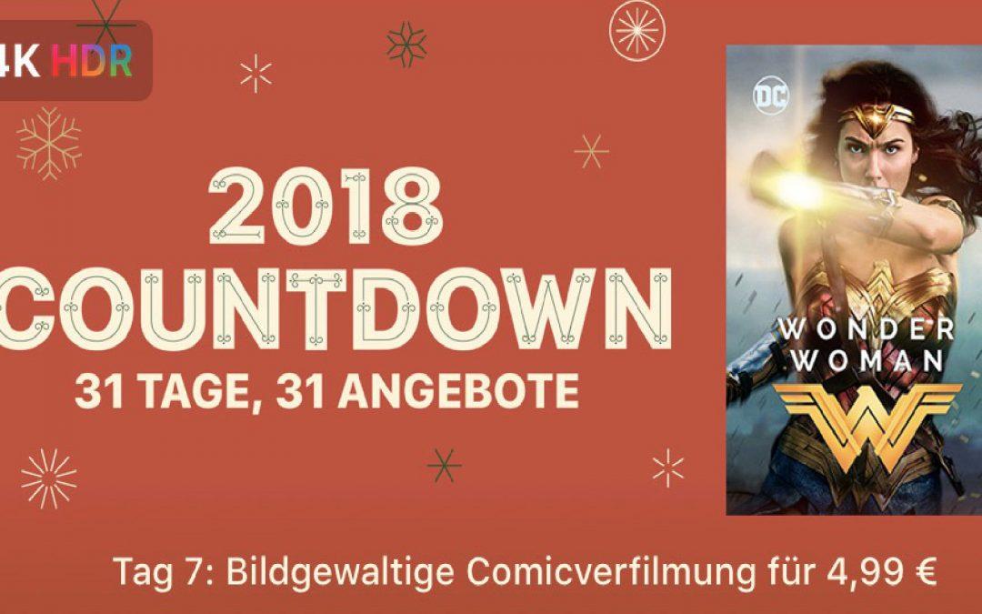 """31 Tage, 31 Angebote – 7. Tag: """"Wonder Woman (2017)"""" für 4,99€"""