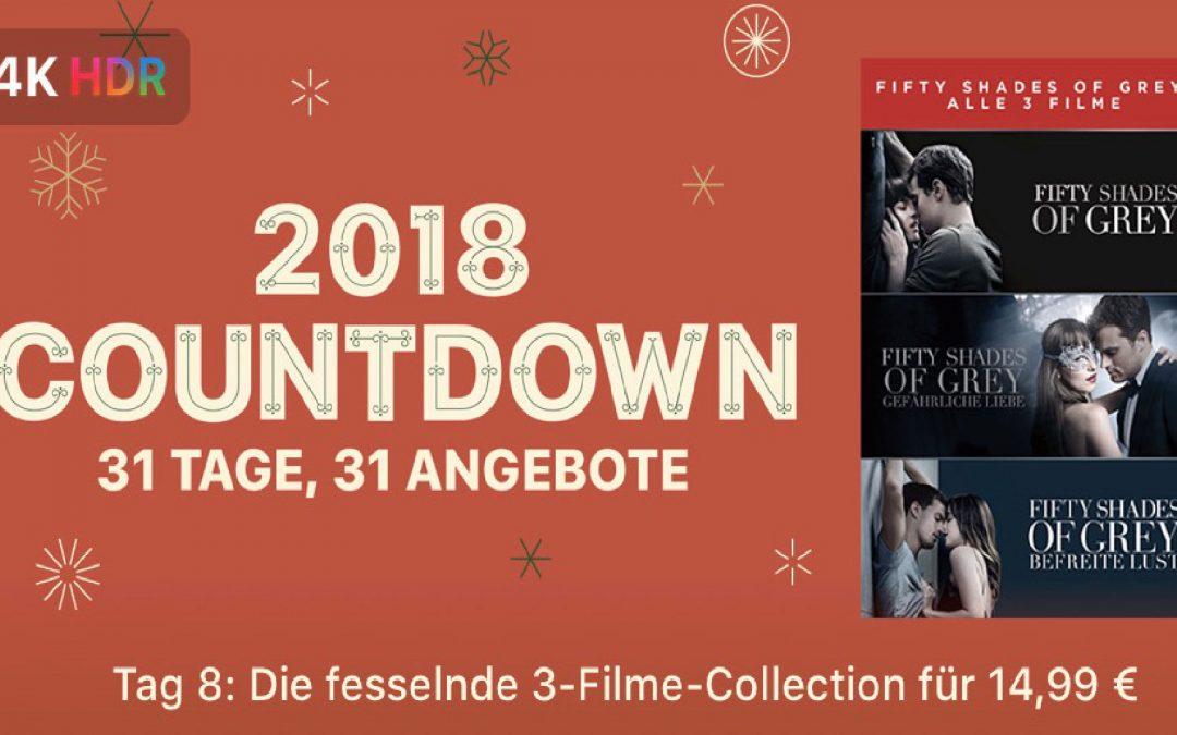 "31 Tage, 31 Angebote – 8. Tag: ""Fifty Shades Of Grey Trilogy"" für 14,99€"