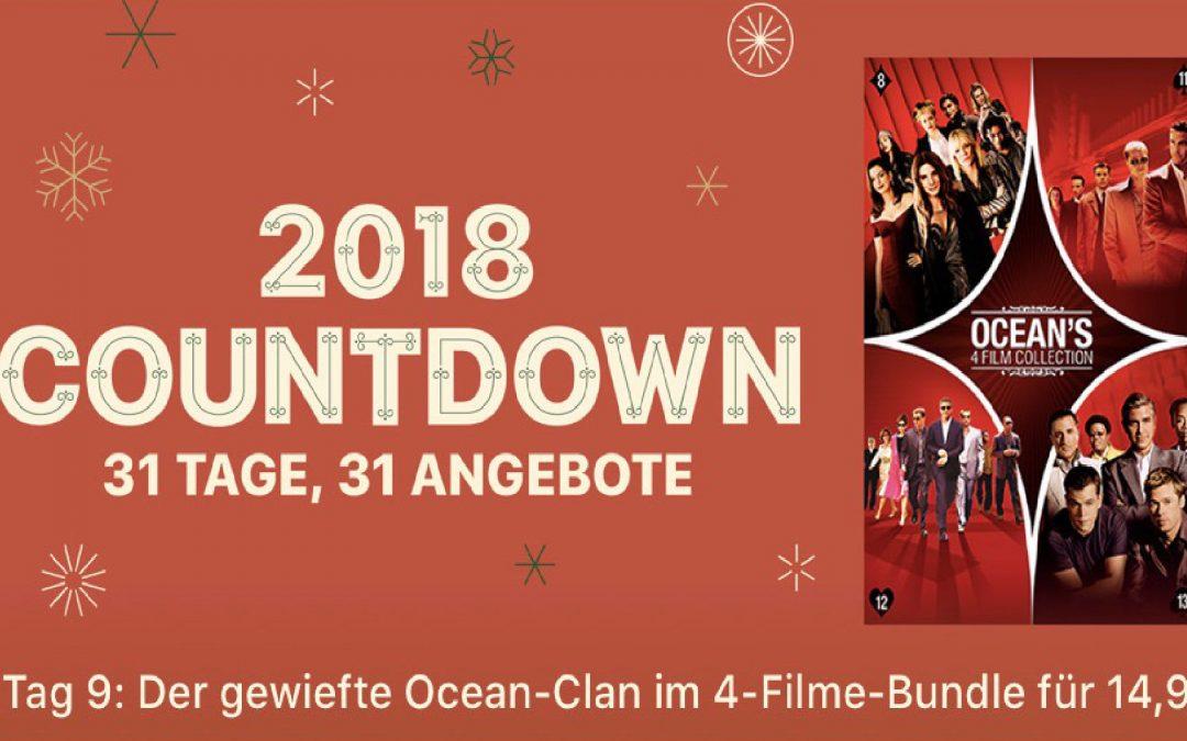 """31 Tage, 31 Angebote – 9. Tag: """"Ocean's 4 Film Sammlung"""" für 14,99€"""