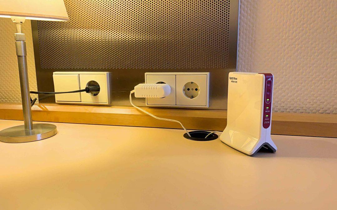 Im Test: FRITZ!Box 6820 LTE von AVM – nimm dein Internet und WLAN einfach mit
