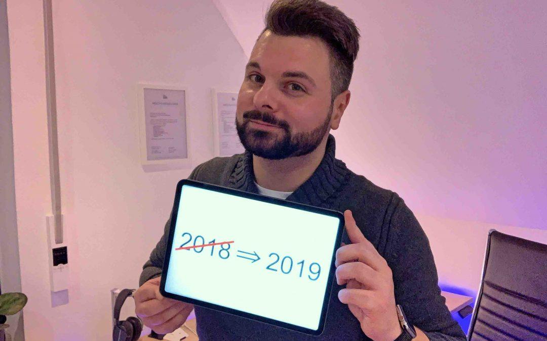Das war 2018 und was für 2019 ansteht
