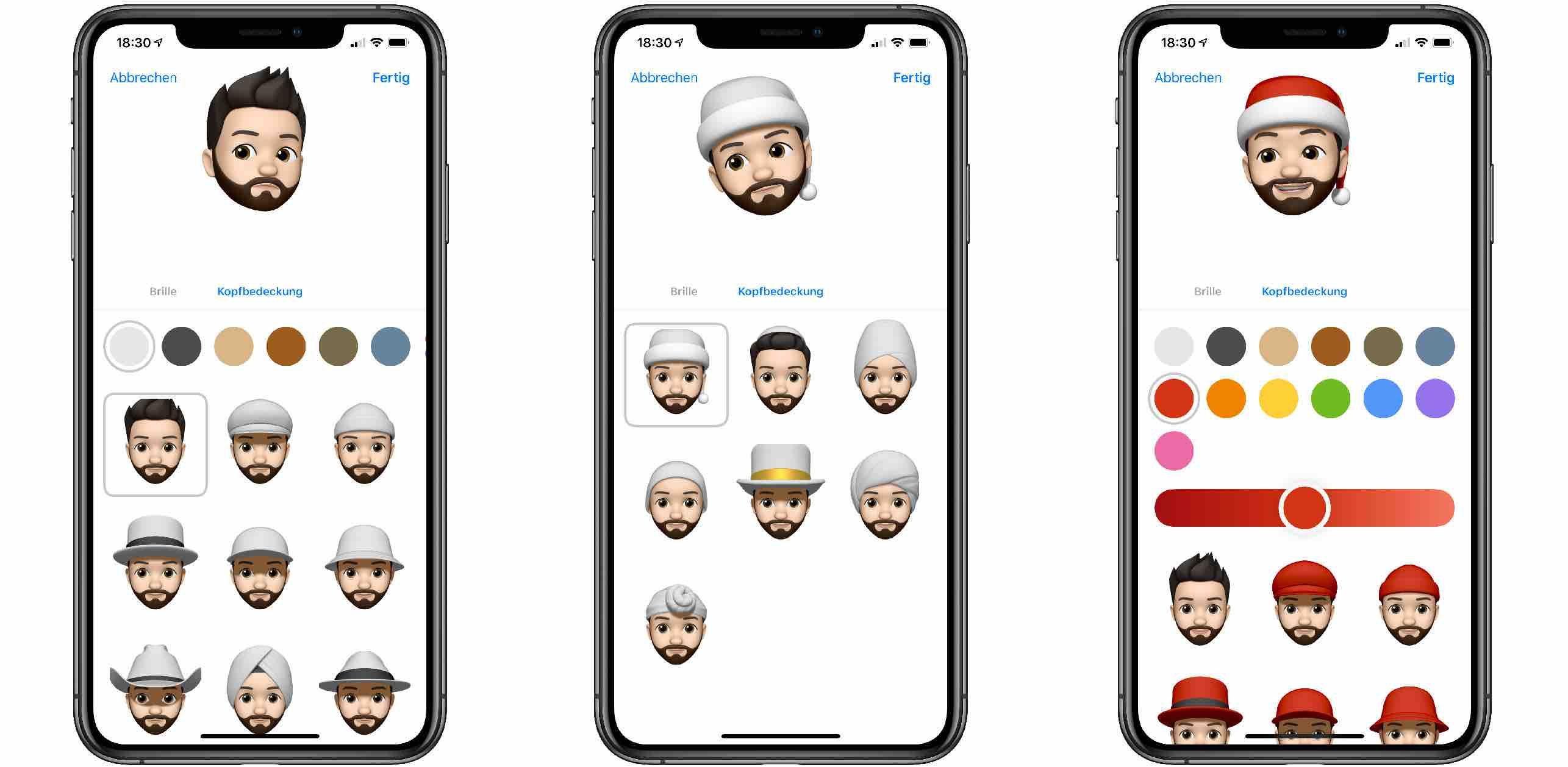 Memoji_iOS12_Santa_Tipp1-e1543858661207 Tipp: So erhält dein Memoji einen weihnachtlichen Look