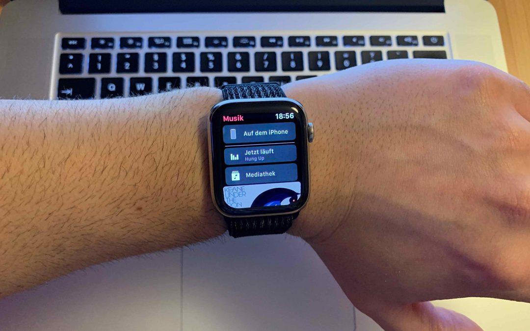 Tipp: Wie du Musik auf deine Apple Watch überträgst