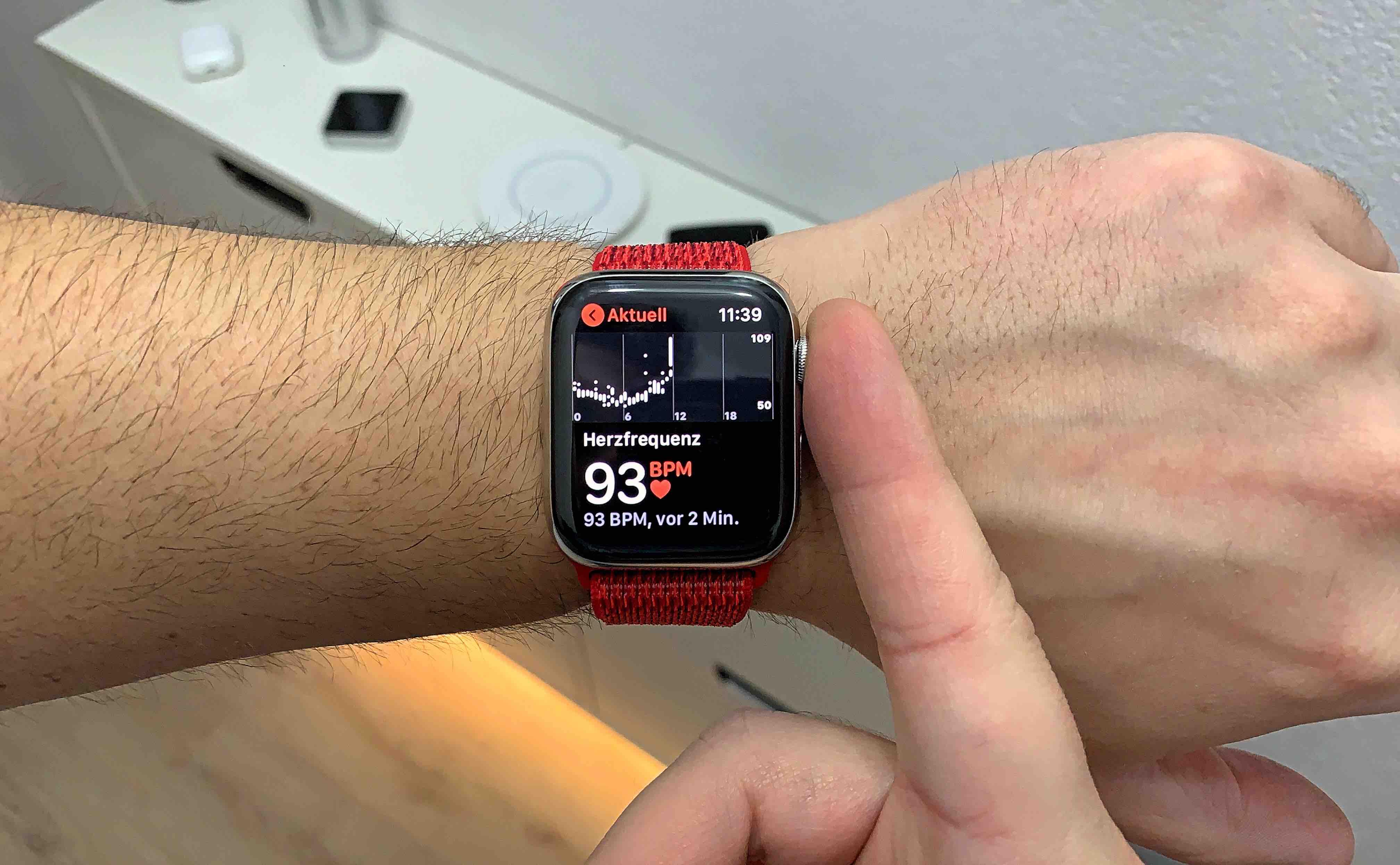 Apple_Watch_Series_4_Puls_Artikelbild Tipp: Wie du mit der Apple Watch Series 4 noch schneller den Puls misst