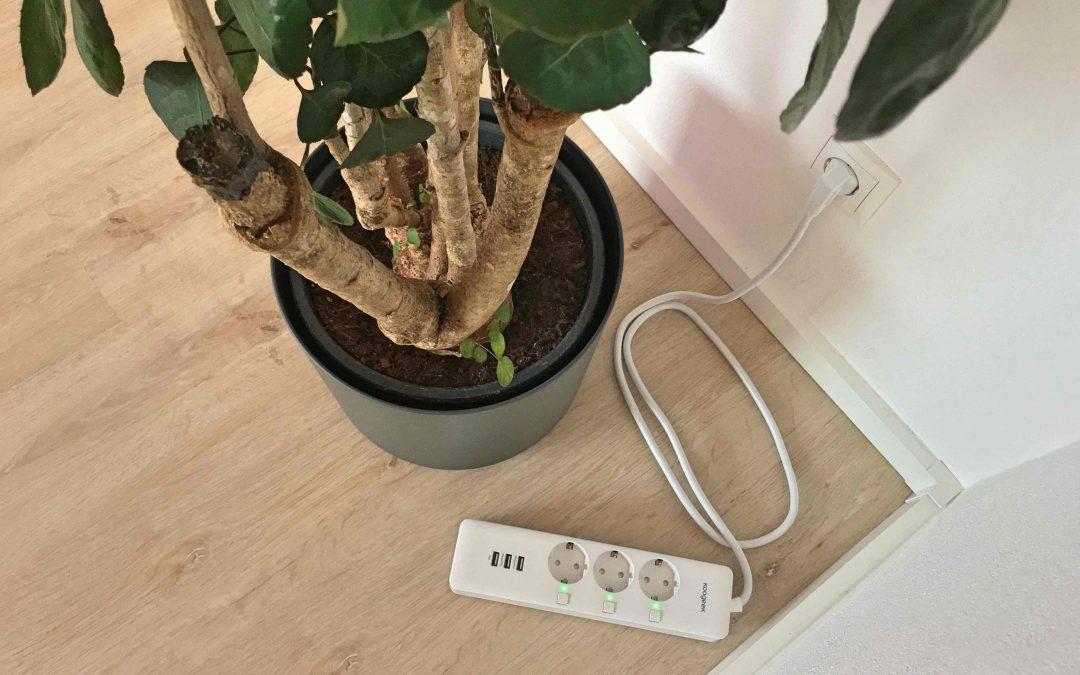 Koogeek Steckdosenleiste mit HomeKit – drei Geräte über nur ein Gerät steuern