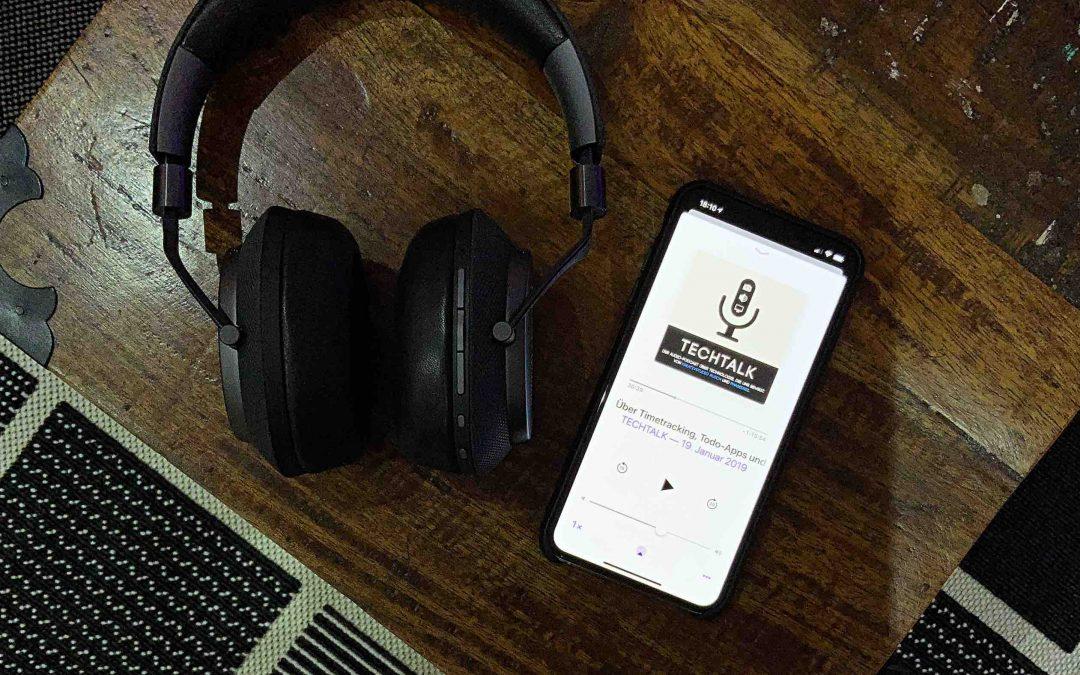 """Empfehlung: """"Techtalk – Der Audiopodcast über Technologie, die uns bewegt"""""""