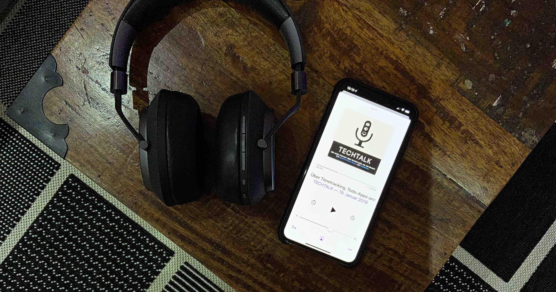 """Techtalk_Podcast_Empfehlung_Artikelbild Empfehlung: """"Techtalk - Der Audiopodcast über Technologie, die uns bewegt"""""""