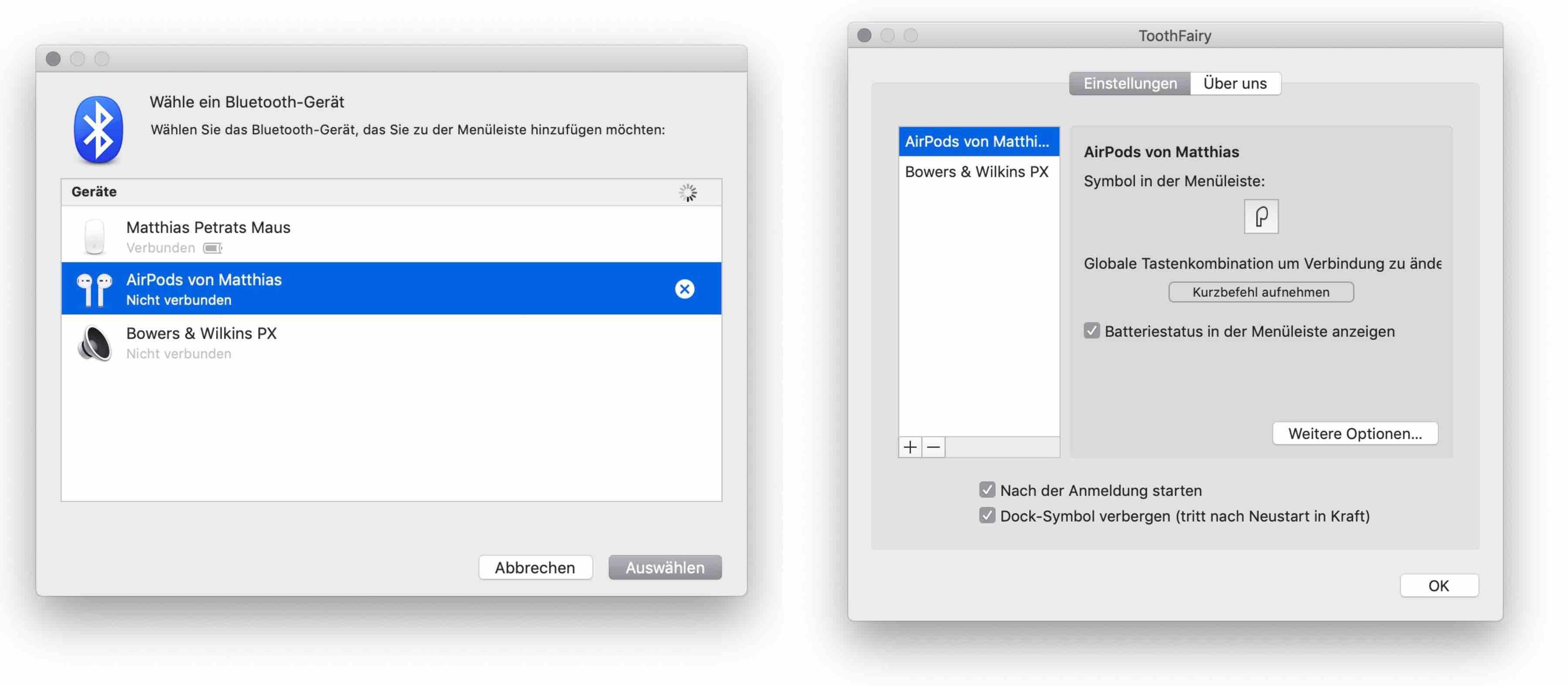 ToothFairy_Mac_Kopfhörer_Bluetooth_App1 ToothFairy für den Mac - das hilfreiche Werkzeug für Bluetoothkopfhörer