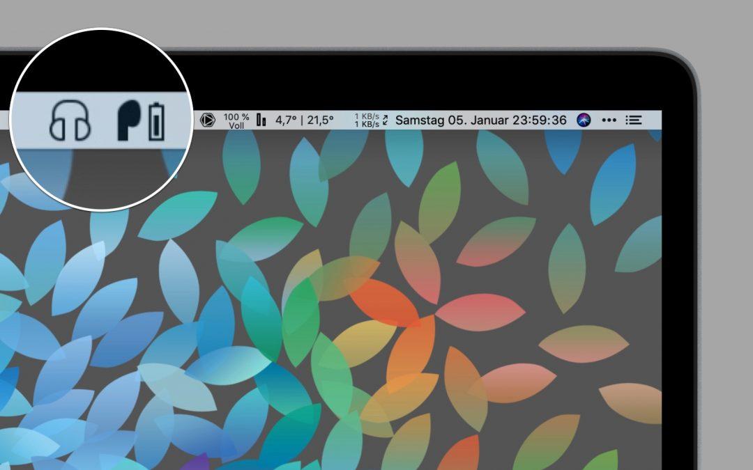 ToothFairy für den Mac – das hilfreiche Werkzeug für Bluetoothkopfhörer