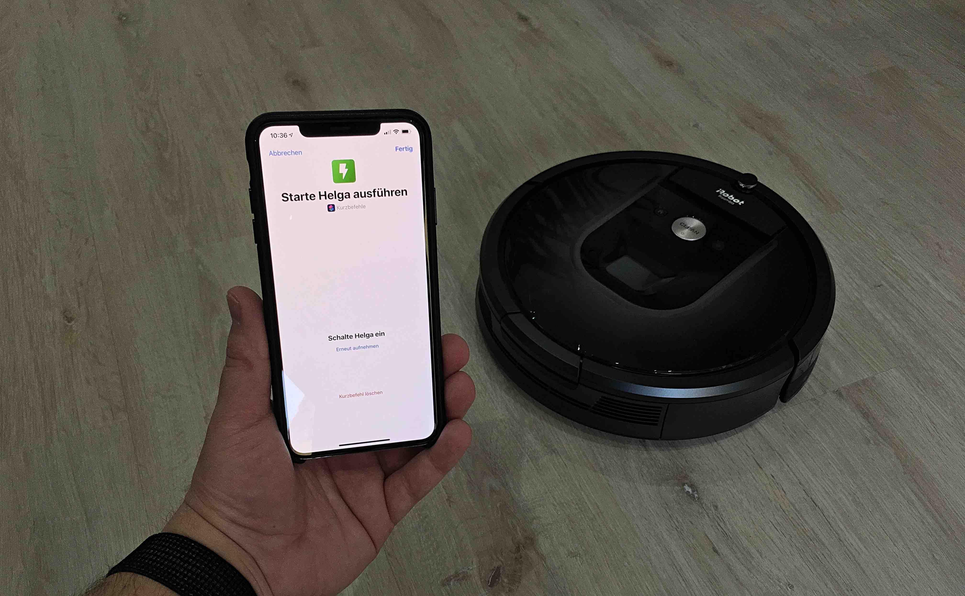 Anleitung-iRobot-Roomba-mit-Kurzbefehl-und-Siri-Kommando-nutzen Anleitung: iRobot Roomba mit Kurzbefehl und Siri-Kommando bedienen