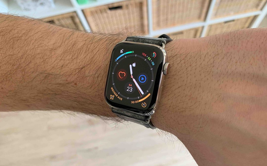 Echtlederarmbänder für die Apple Watch von Maikes