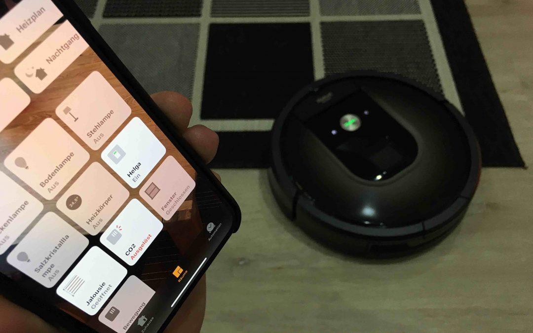 Anleitung: Wie du einen iRobot Roomba in HomeKit nutzen kannst