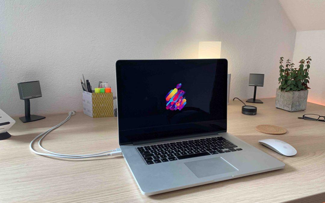 So nutzt du die animierten Apple-Logos auf dem Mac als Bildschirmschoner