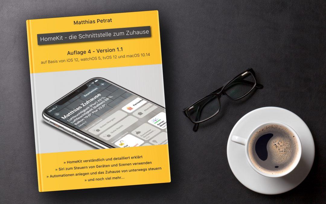 """""""HomeKit – die Schnittstelle zum Zuhause"""" – Version 1.1 der 4. Auflage ist da"""